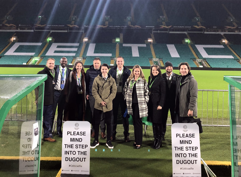 Team Orange Sports Forum at Celtic Football Club Glasgow