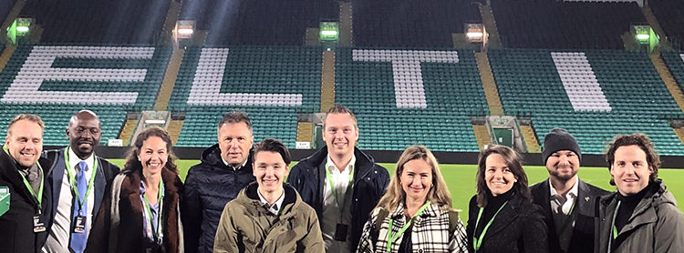 Hostcity Glasgow 2019 and our visit to Celtic Football Club