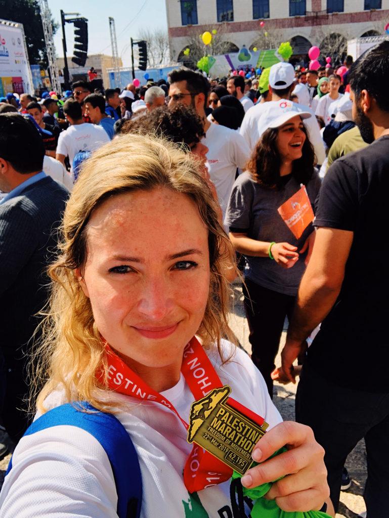 Freedom of Movement Marathon Palestine 2019 // Anne Jellema
